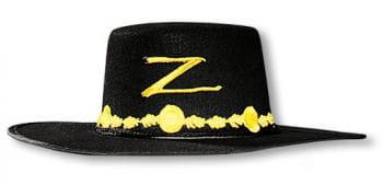 Zorro Hut Erwachsene
