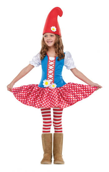 Dwarf Girl Child Costume