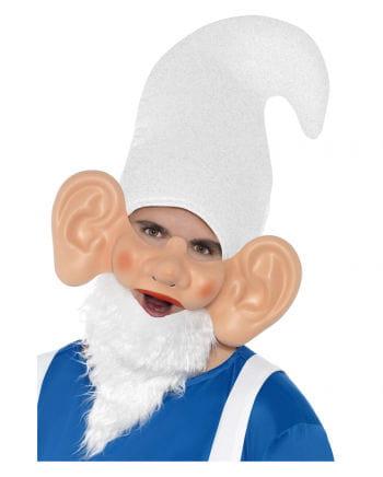 Zwergen Maske mit Ohren