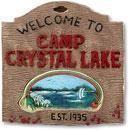 Camp Crystal Lake Schild
