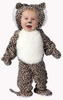 Plush Leopard Baby Costume Large
