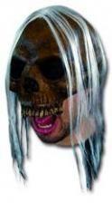 Rotting Skull Half Mask