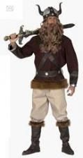 Vikings Velkan Costume Large