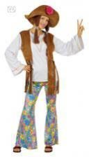Hippie Costume women with braids Gr. S