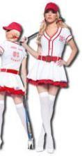Baseball Schätzchen Premium Kostüm Large