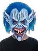 Blaue Teufel Kindermaske