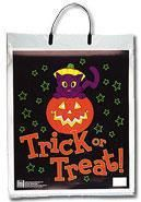 Trick or Treat Bag Cat Design