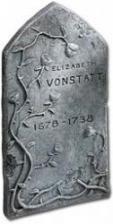 Elizabeth Vonstatt Grabstein
