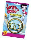 Betty Boop earrings and bracelets