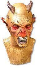 Höllen Dämon Latex Maske