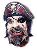 Pirate Half Mask