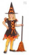 Witch Child Costume orange