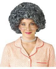 African granny wig silver