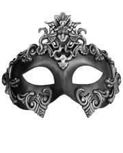 Ancient Eye Mask silver-black
