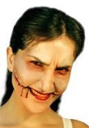Joker Smile Latexwunde