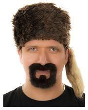 Fluffy Henriquatre Beard Dark Brown