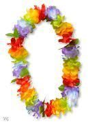 Multi-Coloured Hawaiian Lei
