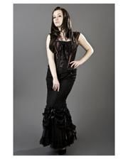 Burleska lace skirt black