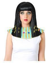 Cleopatra wig with pigtails
