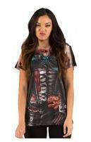Korsett Zombie Damen T-Shirt