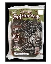 Creepy Spinnennetz Deko 50g