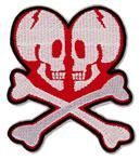 Crossbone Love Patch