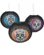 Day of the Dead Lampions 6er Pack
