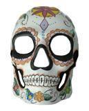 Day of the Dead Skull Maske Flower