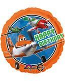 Folien Ballon Disney PLANES Happy Birthday
