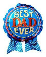 Folienballon Best Dad Ever