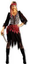 Freche Piratenbraut Kostüm M