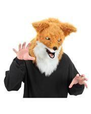 Fuchsmaske mit beweglichem Maul