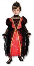 Funkelnde Gothic Prinzessin Kostüm XS 1-2 Jahre