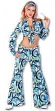 Funky Hippie Costume Medium