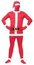 Weihnachtsmann Ganzkörperanzug