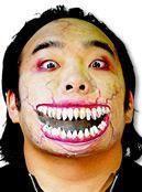 Set of Teeth Wound Latex