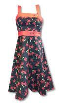 Skull Bunny Dress Red