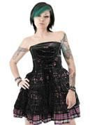 Corset with lace Size S