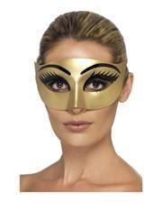 Goldene Cleopatra Augenmaske