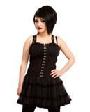 Gothic Dress with Tulle Skirt