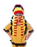 Großer Indianer Kopfschmuck