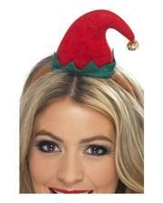 Headband with Mini Elf hat