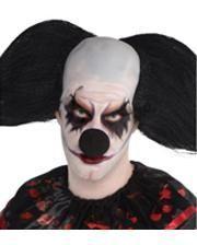Halloween Clownsnase schwarz