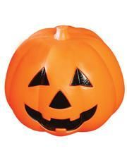 Hallowen pumpkin lamp 15 cm