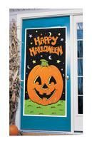 Happy Halloween Pumpkin Door film