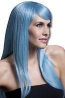Sienna wig light blue