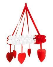 Coronary Garland red / white