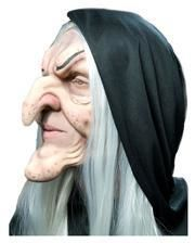 Hagatha Witch Foam Latex Mask