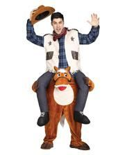 Riding Cowboy Costume Carry Me
