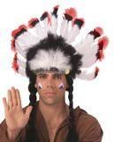 Indianer Feder Kopfschmuck